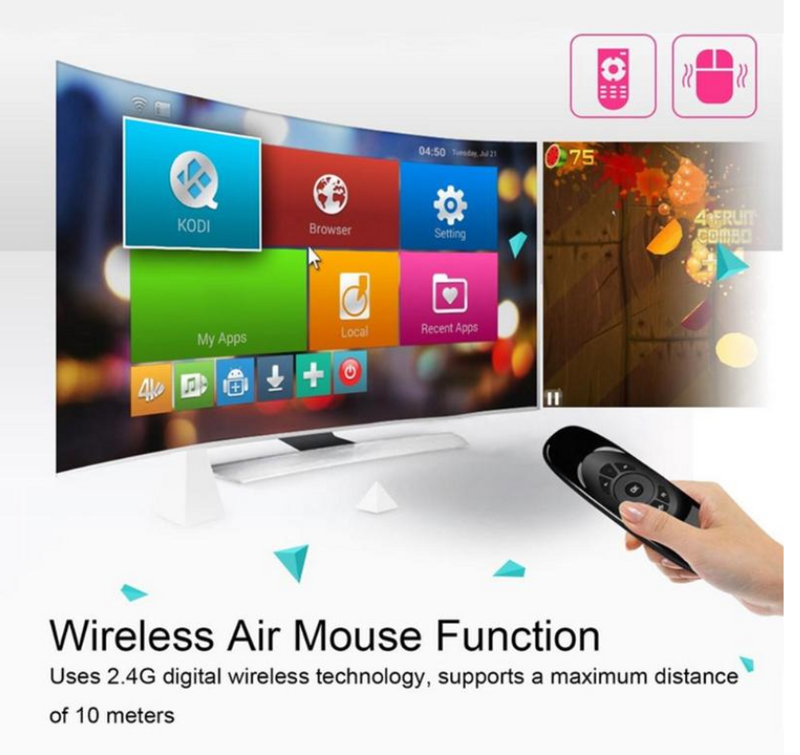 Wireless Air Mouse - Compro System