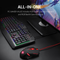 Redragon S101-3 Wired Gaming RGB Keyboard and M601 Mouse Combo - Compro System
