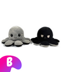 Cute Reversible Octopus Plush -  - Melius