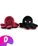 Cute Reversible Octopus Plush