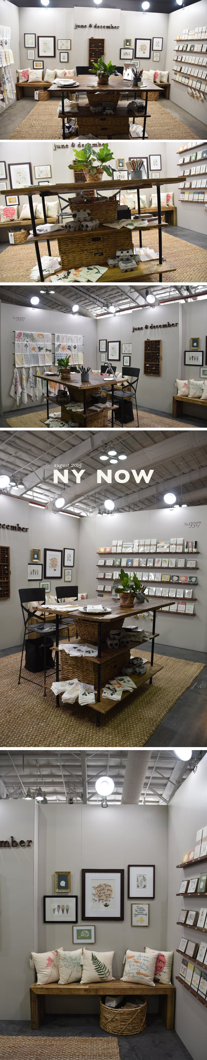 June & December NY NOW Summer 2015 Booth