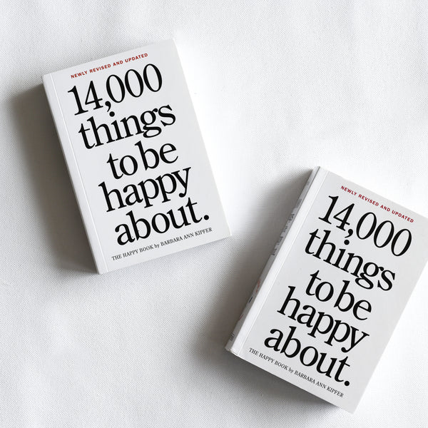 14,000 Things to be happy about Book