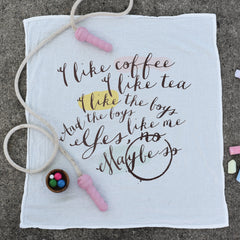 Coffee + Tea Towel