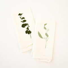 Eucalyptus Napkins : Set of 4