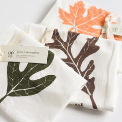 Fall Leaves Towels : Set of 3