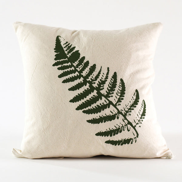 Fern Pillow Cover