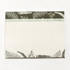 Fronds Desk Pad : Weekly To Do