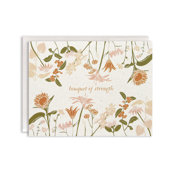 Strength Bouquet Card