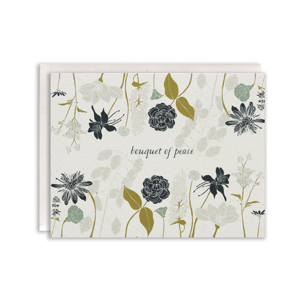 Peace Bouquet Card