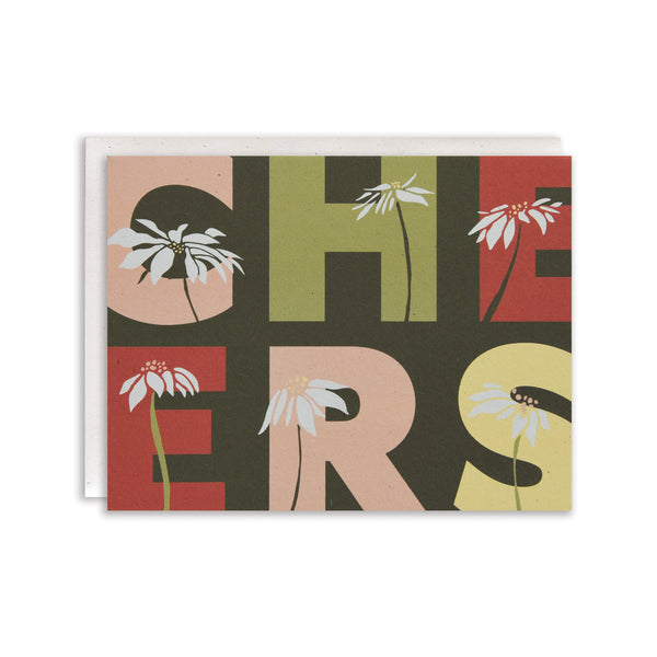 Overgrown Cheers Cards : Boxed Set of 8