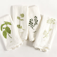 Garden Flavors Napkins : Set of 4