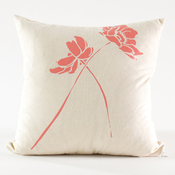 Wild Geranium Pillow Cover