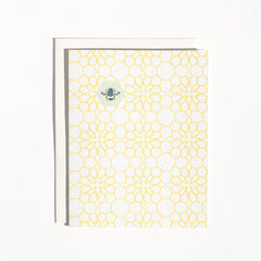 Honeycomb Flowers Cards : Boxed Set of 8
