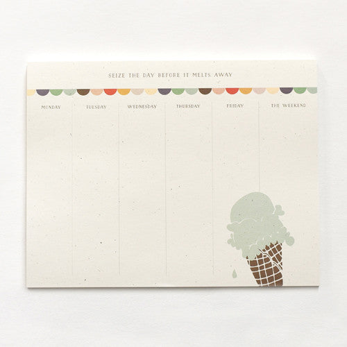 Parlour Desk Pad : Weekly To Do