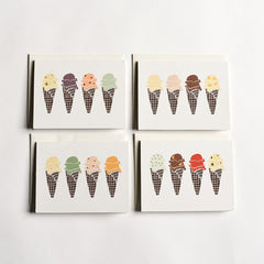 Flavors Cards : Boxed Set of 8