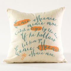 Eenie Meenie Pillow Cover