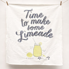 Limeade Recipe Towel