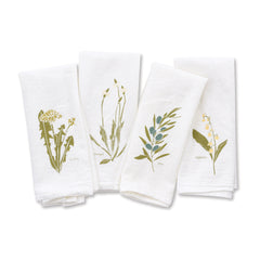 Language of Flowers Napkins : Empowerment