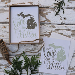 Holiday Love From the Mitten Cards : Boxed Set of 8