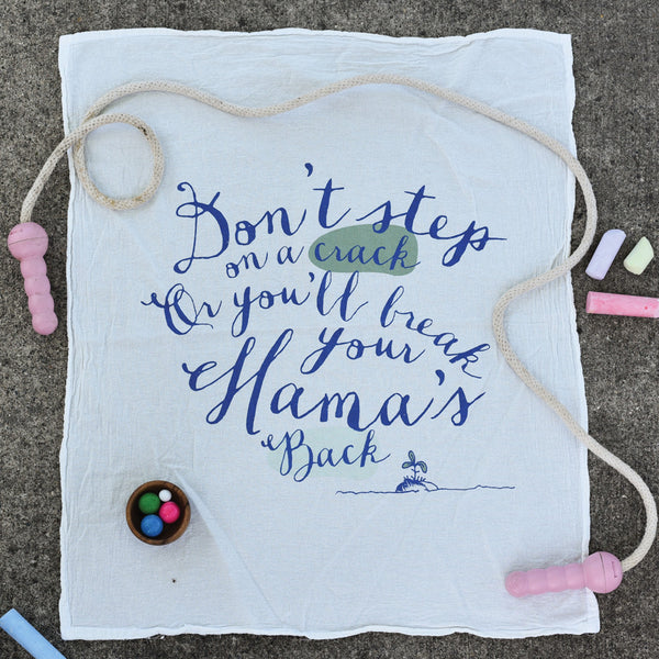Mama's Back Towel