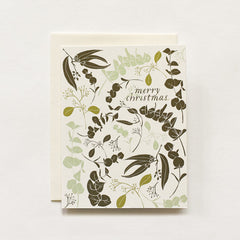 Holiday Eucalyptus Cards : Boxed Set of 8
