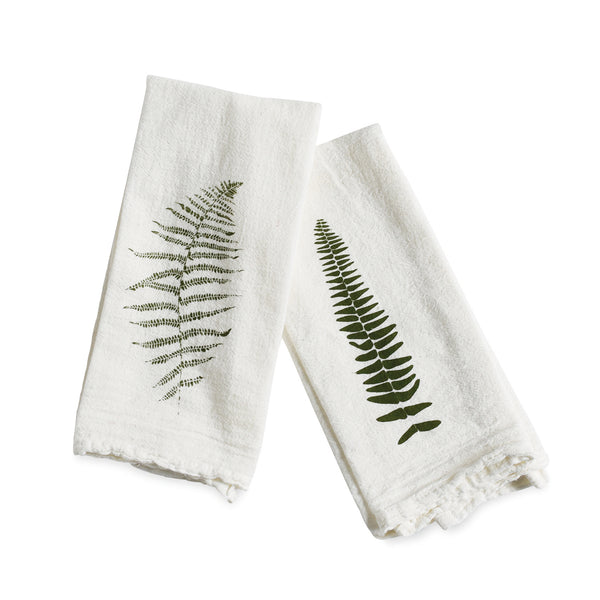 Wood Fern + Resurrection Fern Napkins