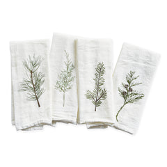 Winter Greens Napkins