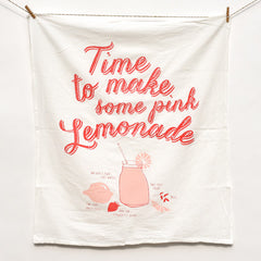 Pink Lemonade Recipe Towel