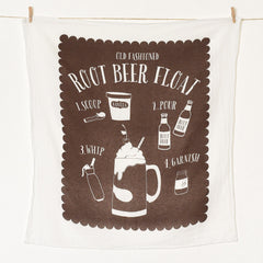 Root Beer Float Towel