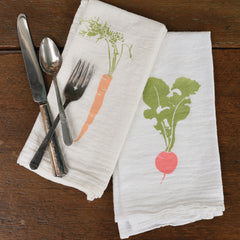 Root Veg Napkins : Set of 4