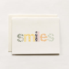 Woodblock Smiles Cards : Boxed Set of 8
