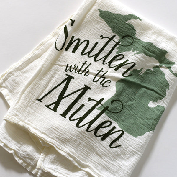 Smitten with the Mitten Towel
