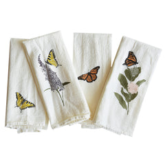 Swallowtails + Monarchs Napkins