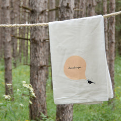 Cheeseburger Chickadee Towel