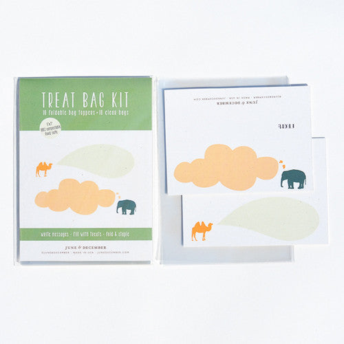 Elephant & Camel Treat Bag Kit : Set of 10