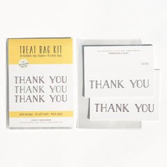 Thank You Treat Bag Kit : Set of 10