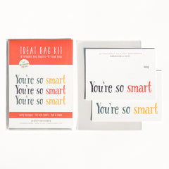 You're So Smart Treat Bag Kit : Set of 10