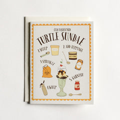Turtle Sundae Card