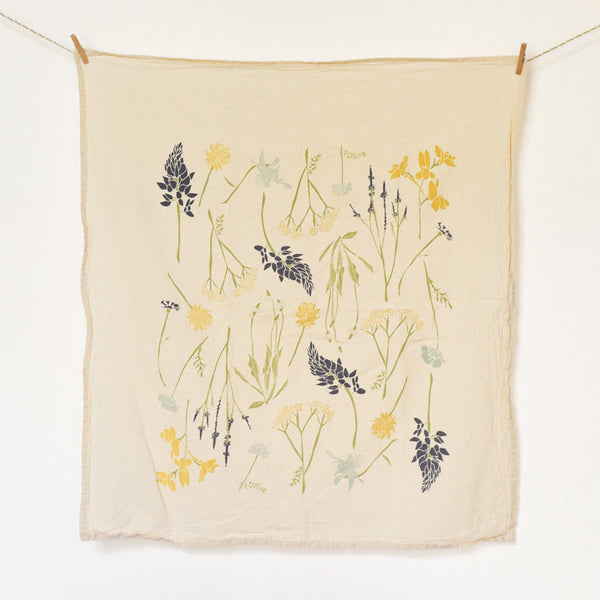 Northern Region Wildflowers Towel