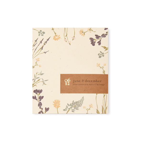 Wildflower Mini Notes