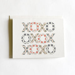 Winter Huges & Kisses Card