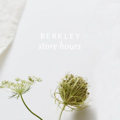 Regular Studio + Store Hours