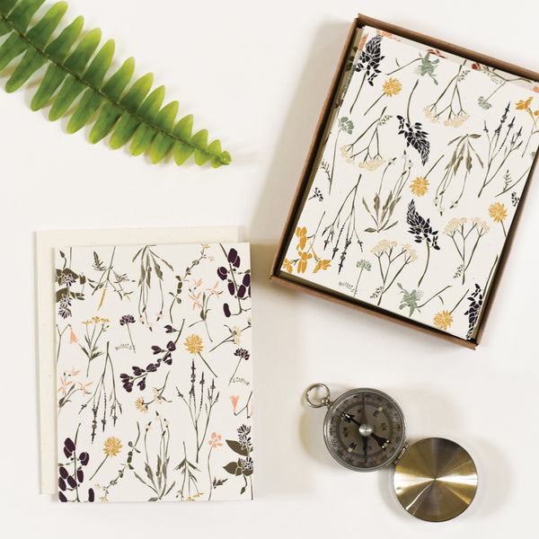 Wildflowers by Region Cards : Box Set of 8