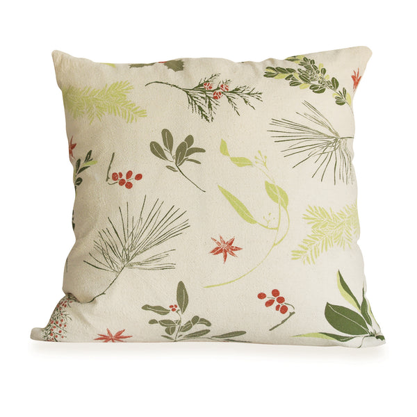 Boughs & Berries Pillow Cover