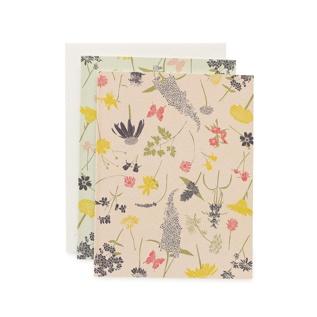 Butterfly Garden Cards : Boxed Set Of 8