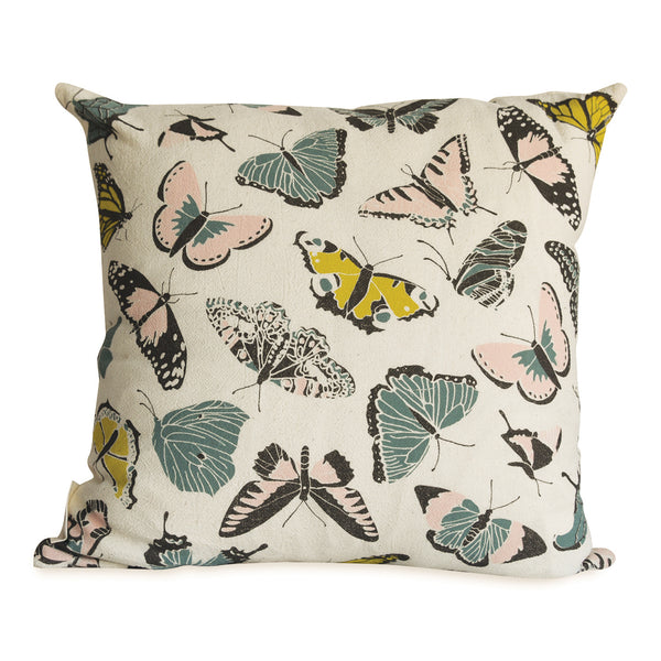 Butterfly House Pillow Cover