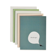 Cheeseburger Chickadee Cards : Boxed Set of 8