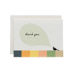 Chickadee Thank You Cards : Boxed Set of 8