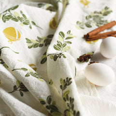 Boxwood + Bells Towel