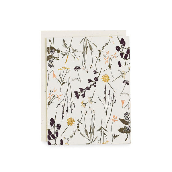 Eastern Wildflowers Card